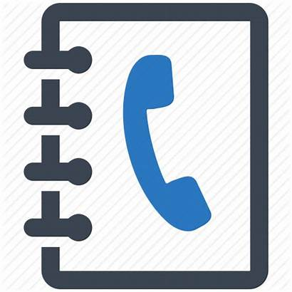 Icon Phone Address Contacts Clipart Telephone Number