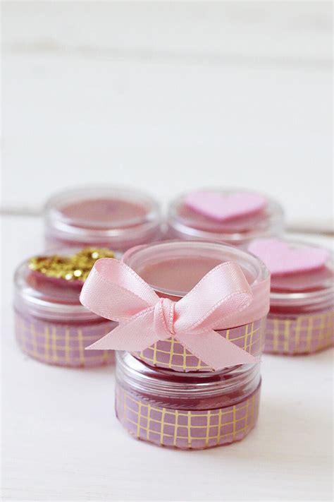 lipgloss selber machen kinder diy geschenke muttertag muttertagsgeschenke selbst gemacht