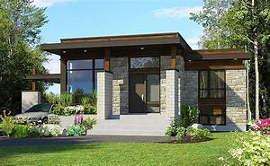 Plan, 90262pd, Compact, Modern, House, Plan, In, 2021