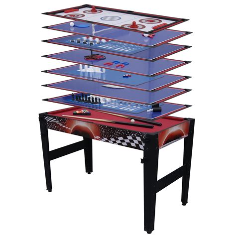 sportcraft 14 in 1 game table sportcraft 14 in 1 combo multi game table 48 quot basketball