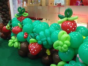 Strawberry Balloons THAT Balloons