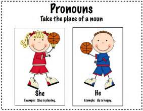 He She Pronoun Activities