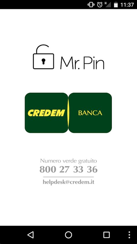 Credem On Line Credem Mr Pin App Android Apps On Play