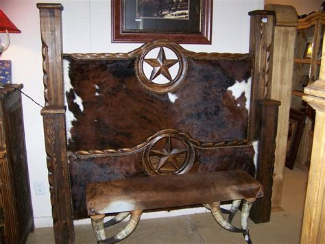 Cowhide Headboards by Cowhide Bed Headboards