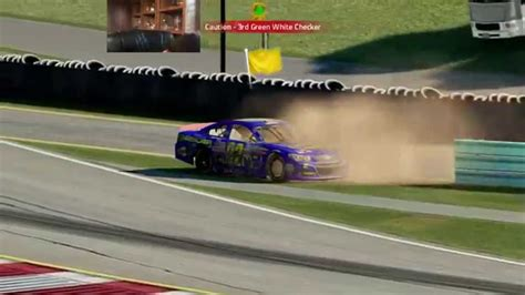 Nascar '15 Watkins Glen Fail  N2sc4r Fail Moment #3 Youtube