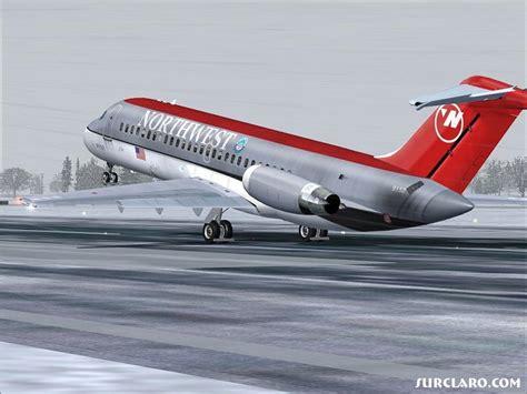 FS2004 NorthWest DC-9-10 Rotate (5858) SurClaro Photos