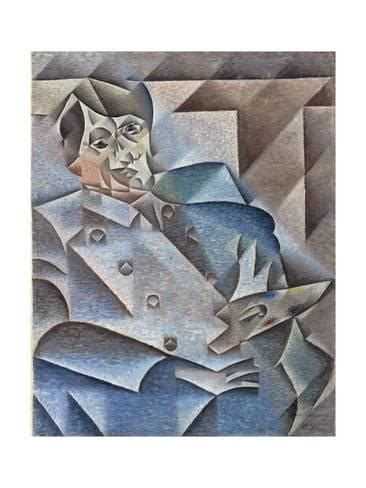 portrait of pablo picasso january february 1912 giclee print by juan gris allposters co uk