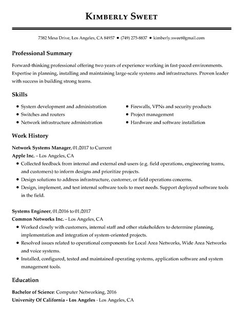 Past Work Experience Resume by 30 Resume Exles View By Industry Title
