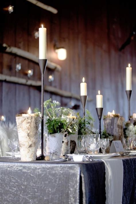 winter wedding decor pictures   images