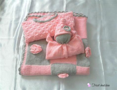 doudou bebe en tricot