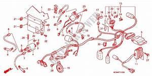Wire Harness  Battery For Honda Vtx 1300 C 2005   Honda