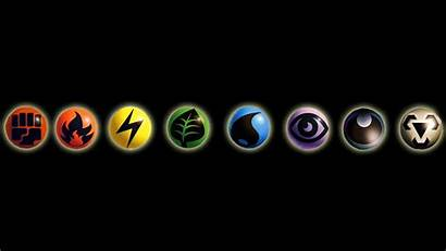 Pokemon Element Wallpapers Elements Backgrounds Anime Background