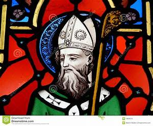 St. Patrick, Stained Glass Image Royalty Free Stock Images ...