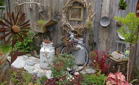 Metall Deko Wand Garten by Holz Deko Fur Drausen Selber Machen Bvrao