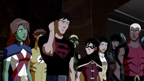 young justice  team identifies  mole youtube