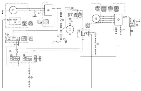 Yfm Wiring Diagrams Schematics Yamaha Badger Atv