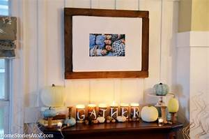 Cozy Fall Mantel {fall ideas} - Home Stories A to Z