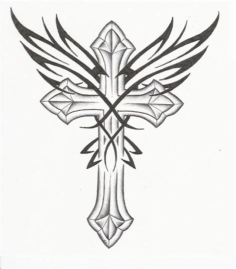 Cool Crosses Drawings  Free Download Best Cool Crosses