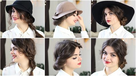 cute with without a hat 3 hairstyles loepsie