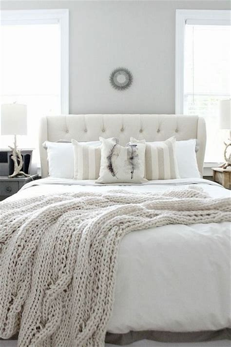affordable ideas   beautiful guest room  neutral colors  refreshrestylecom white