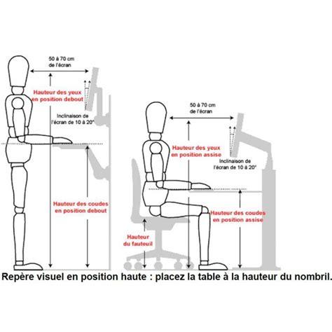 hauteur d un bureau standard hauteur de bureau standard 28 images comment calculer