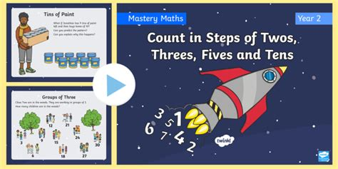 * New * Year 2 Count In Steps Of Twos, Threes, Fives And Tens Place Value
