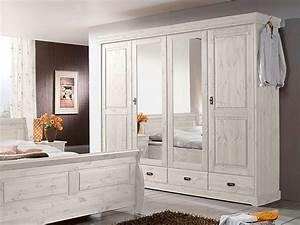 Schlafzimmer Weiß Landhaus : richard ii komplett schlafzimmer kiefer massiv kiefer weiss ~ Sanjose-hotels-ca.com Haus und Dekorationen