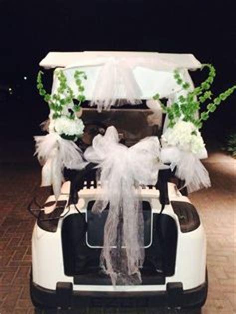 images  golf cart wedding getaway  pinterest