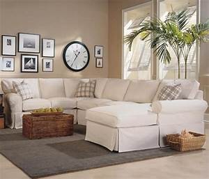 Masquerade 3 piece slipcover sectional with chaise by rowe for 3 piece sectional sofa with chaise slipcover