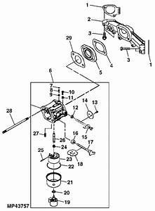 30 John Deere X500 Parts Diagram