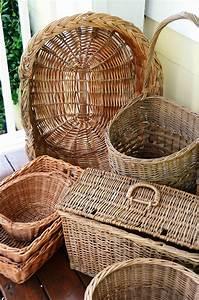 Iron, U0026, Twine, Wicker, Baskets