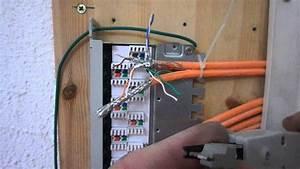 Fahrradlampe Anschließen 4 Kabel : lan patchpanel verdrahten heimnetzwerk gigabit ethernet ~ Jslefanu.com Haus und Dekorationen