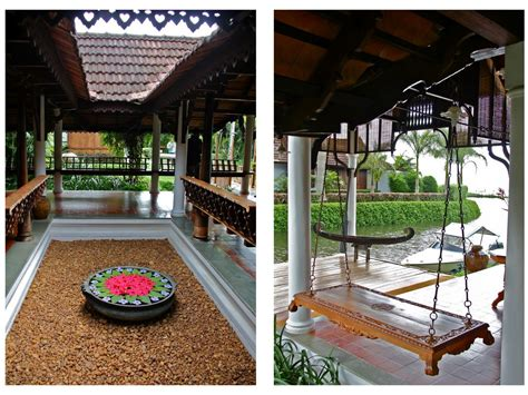 perfect kerala courtyard traditional homes    courtyard   centre