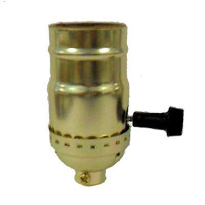Brass Terminal Light Socket Set Screw Texas Lamp Parts