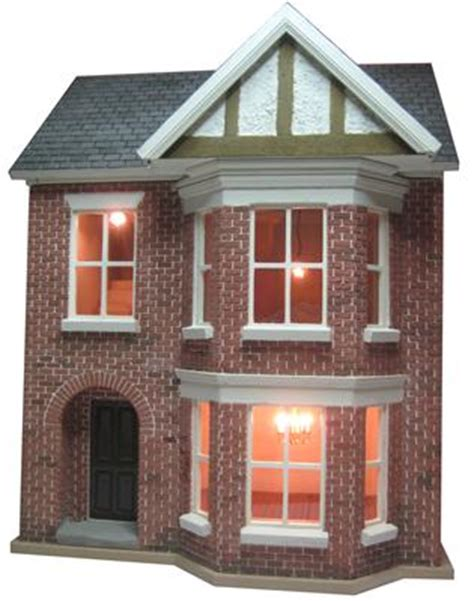 dolls house kit building  decorating project  bromley