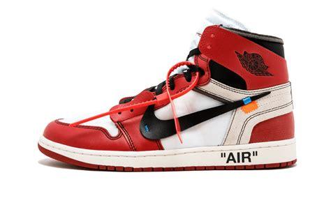 Banned Air Jordan 1 Off White Air Jordan 1 Sneaker Bar