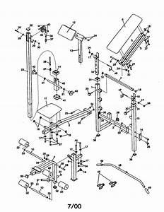 Weider Webe06690 Weight System Parts