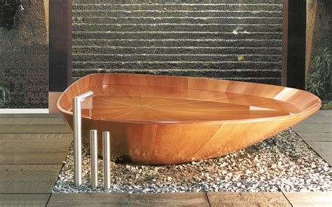 will sasso bathtub wooden bathtubs for modern interior design and luxury bathrooms