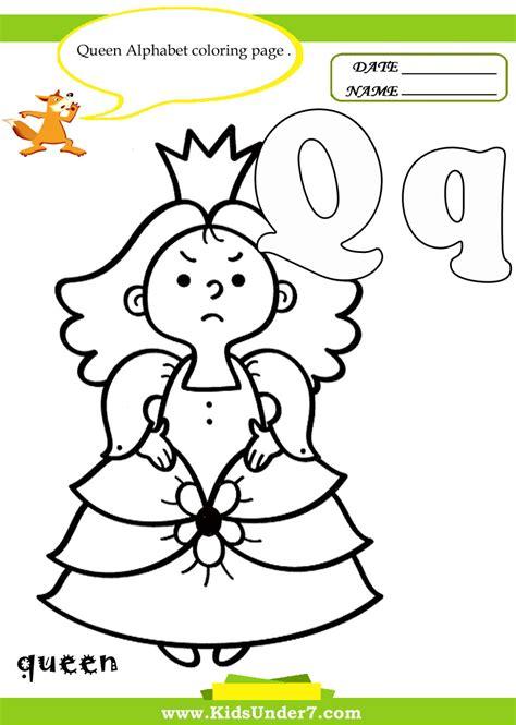 7 letter q worksheets and coloring pages alphabet q worksheets worksheet exle 71153