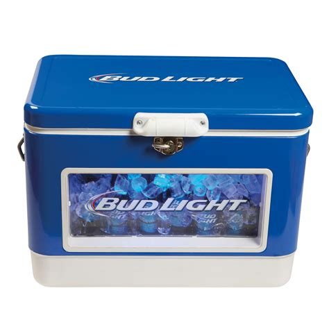 bud light chest bud light led light up cooler icechest ebay