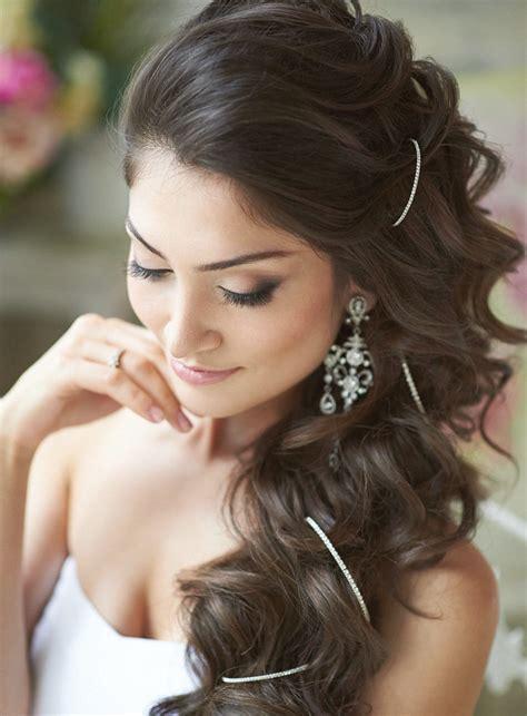glamorous wedding hairstyles  women pretty designs