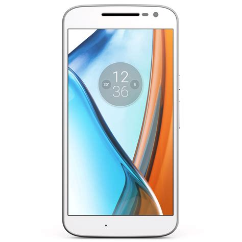 Motorola Moto G4 (UK, 16GB, Dual SIM, White) - Expansys.com UK