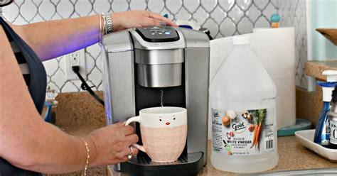 How To Clean A Keurig Coffee Maker Using Vinegar Hip2save