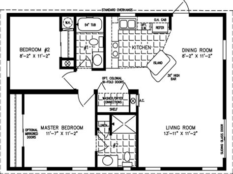 sq ft home floor plans  small homes  sq ft floor
