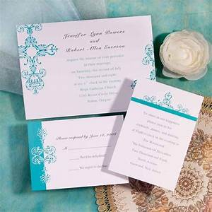 simple tiffany blue damask brides inexpensive wedding With inexpensive classic wedding invitations