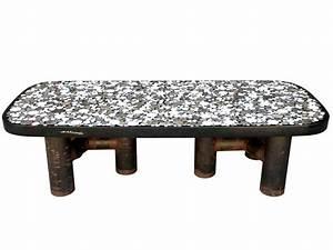 Table Basse Resine : etienne allemeersch table basse en marqueterie de marbre ~ Teatrodelosmanantiales.com Idées de Décoration