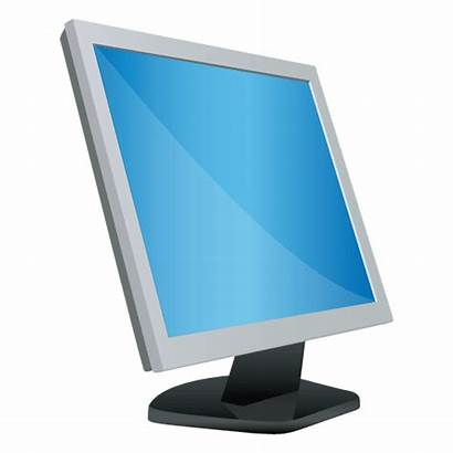 Monitor Cartoon Desktop Computer Transparent Icon Svg