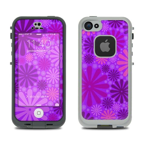 purple lifeproof iphone 5s lifeproof iphone 5s fre skin purple punch by pixel