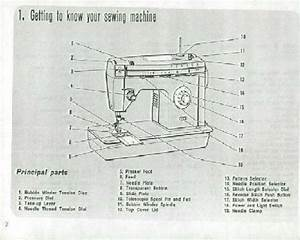 Singer Sewing Machine Instructions Page 3