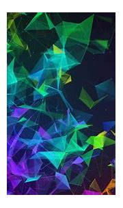 Wallpaper Razer Phone 2, abstract, colorful, HD, OS #20751